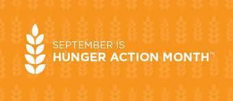 Hunger Action Month Banner